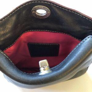 Coach Bags - Coach Mini Leather Shoulder Bag